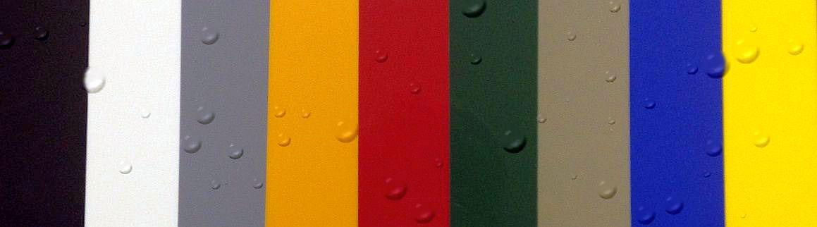 Sani-Armor Colored HDPE Sheet | iPoly