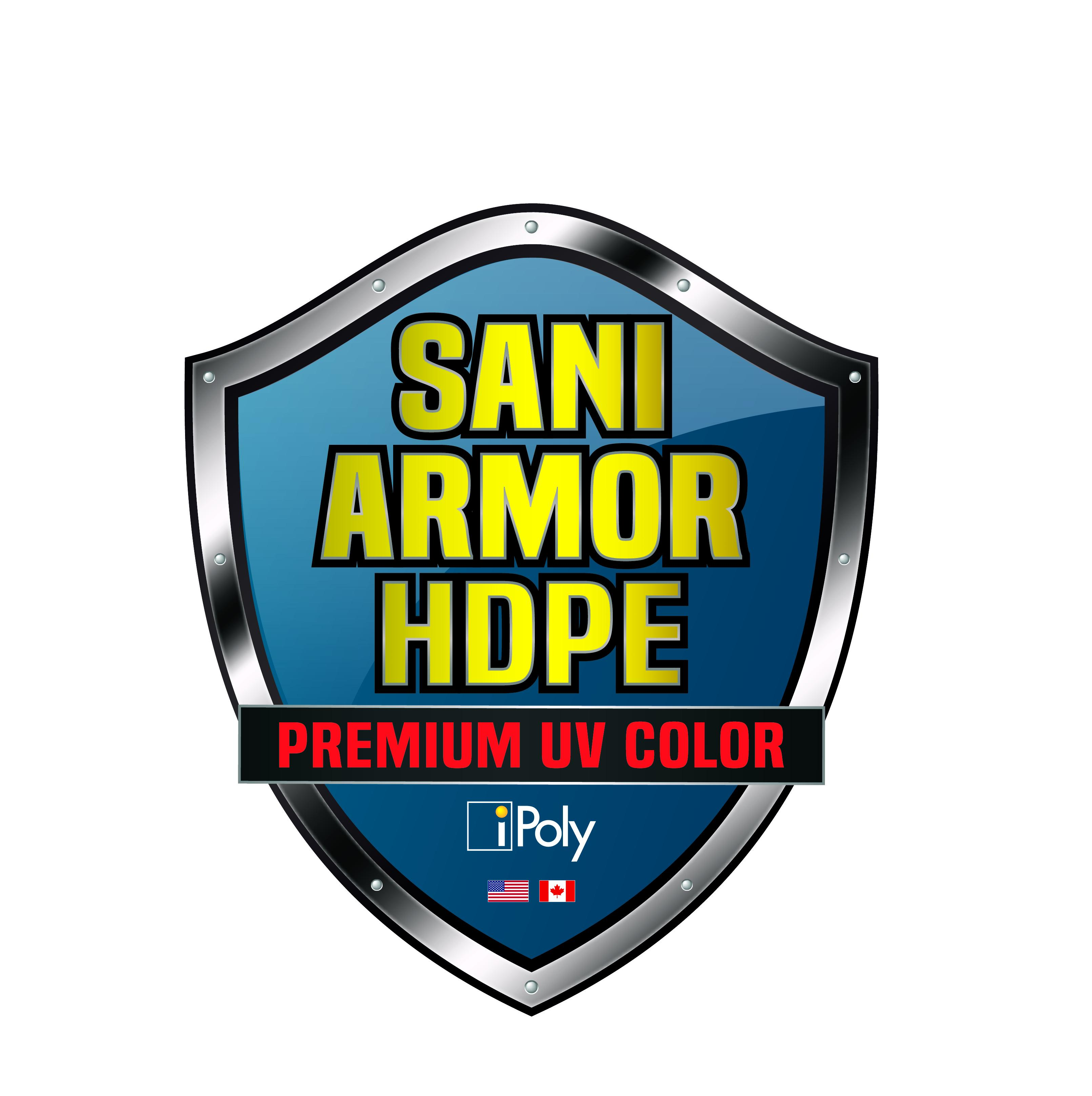 Sani-Armor HDPE Coloured Sheet Logo